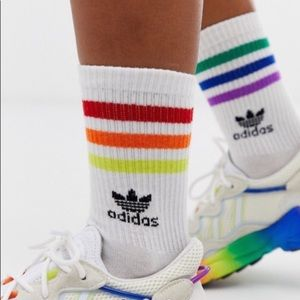 Adidas originals lgbtq gay pride socks